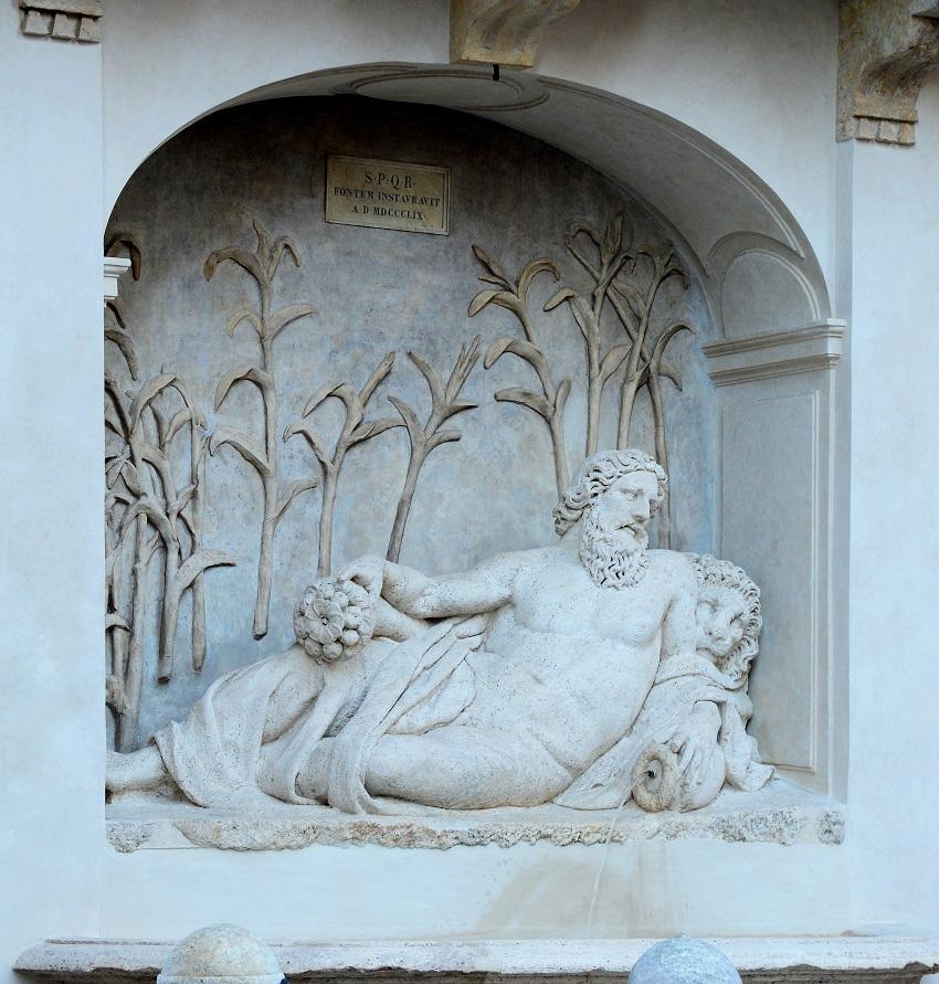 Аненье - Четыре фонтана в Риме
