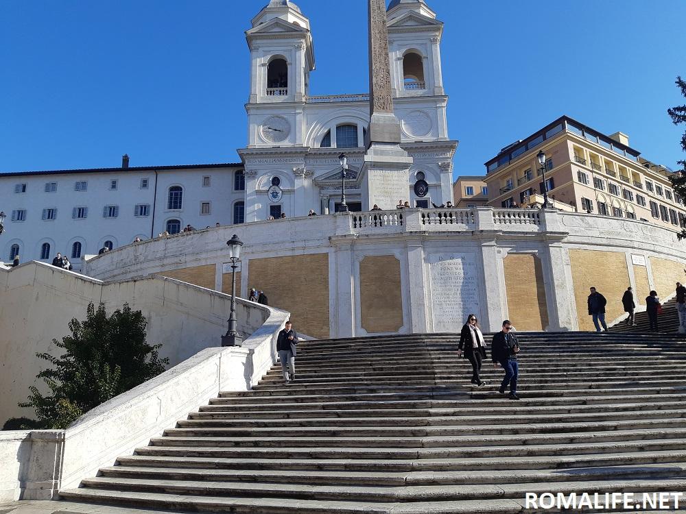 Церковь Пресвятой Троицы - площадь Испании