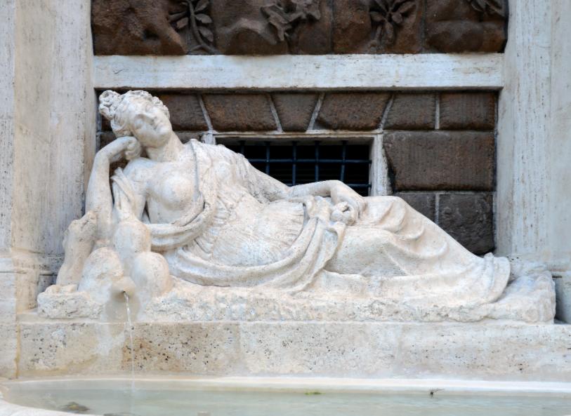 Рим четырех фонтанов - фонтан Диана