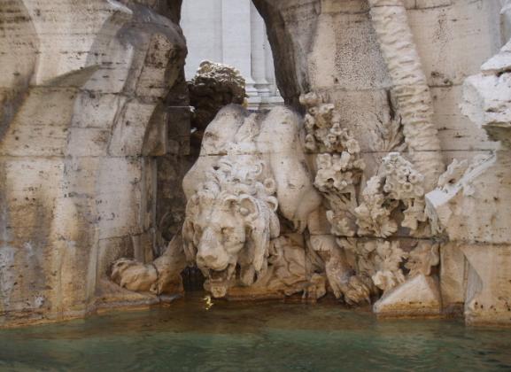 Фонтан Четырех рек в Риме