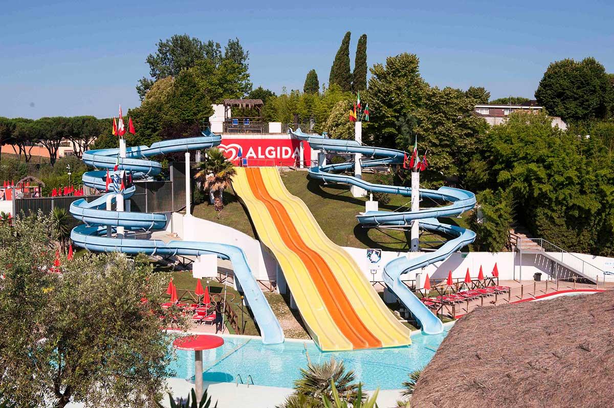 Гидромания - аквапарки в Риме