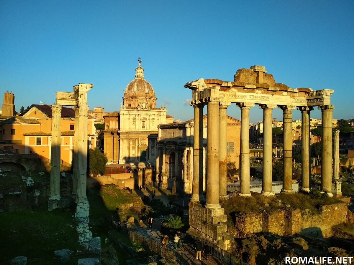 Храм Веспасиана - Римский форум