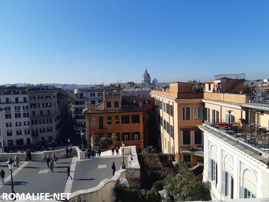 Испанская лестница - Рим