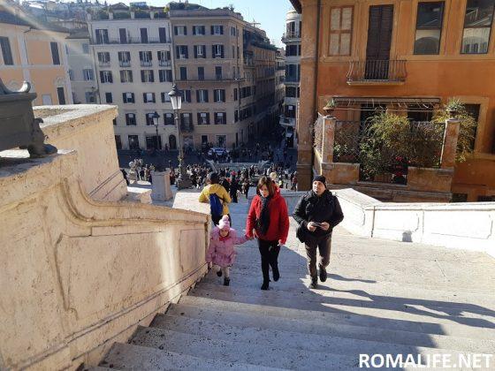 Испанская лестница Рима