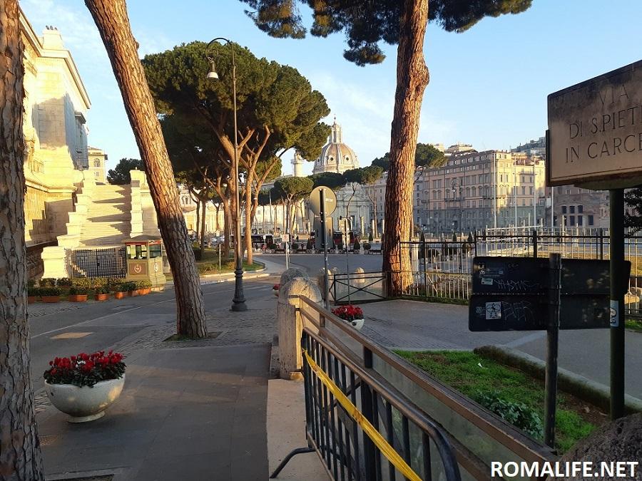 Как добраться в Капитолий в Риме
