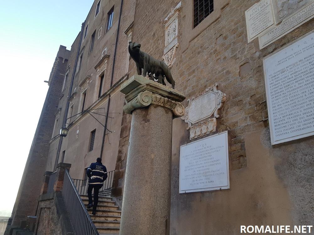 Капитолийская волчица Рим
