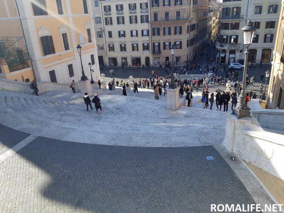 Лестница Испании в Риме