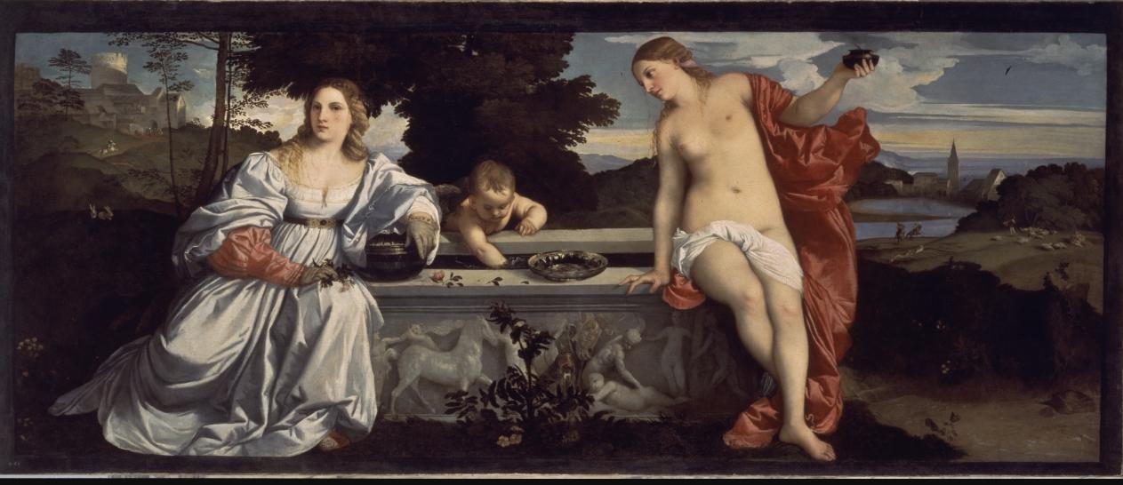 Любовь земная и любовь небесная - Тициан