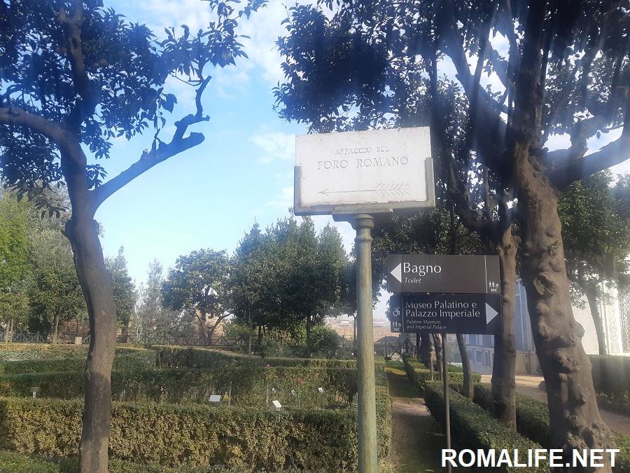 Палатинский холм Рим