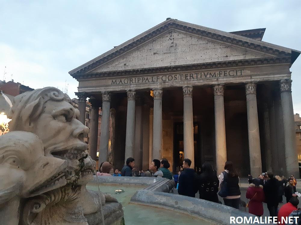 1 день в Риме - Пантеон