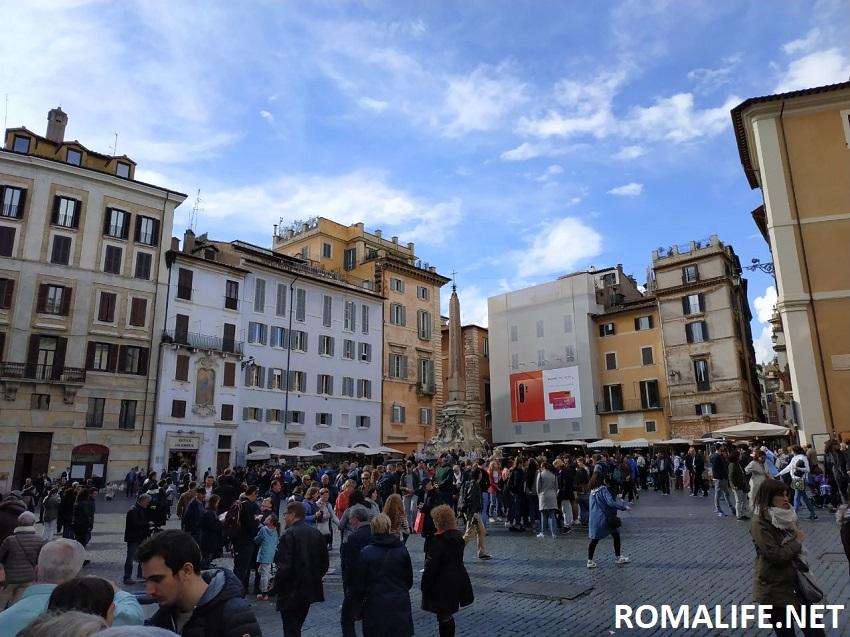 Площадь Ротонды Рим