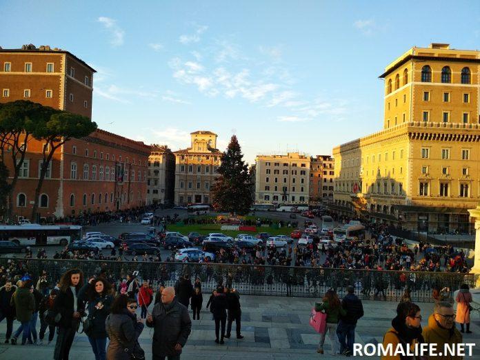 Площадь Венеции Рим