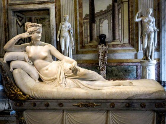 Полина Бонапарт в образе Венеры