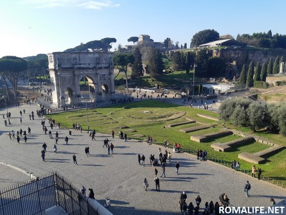 Рим за 1 день - вид с Колизея