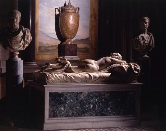 Спящий Гермафродит - скульптуры Галереи Боргезе