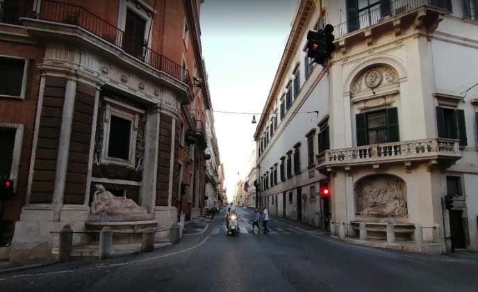 Улица четырех фонтанов