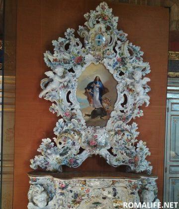 Экспонаты в музее Ватикана