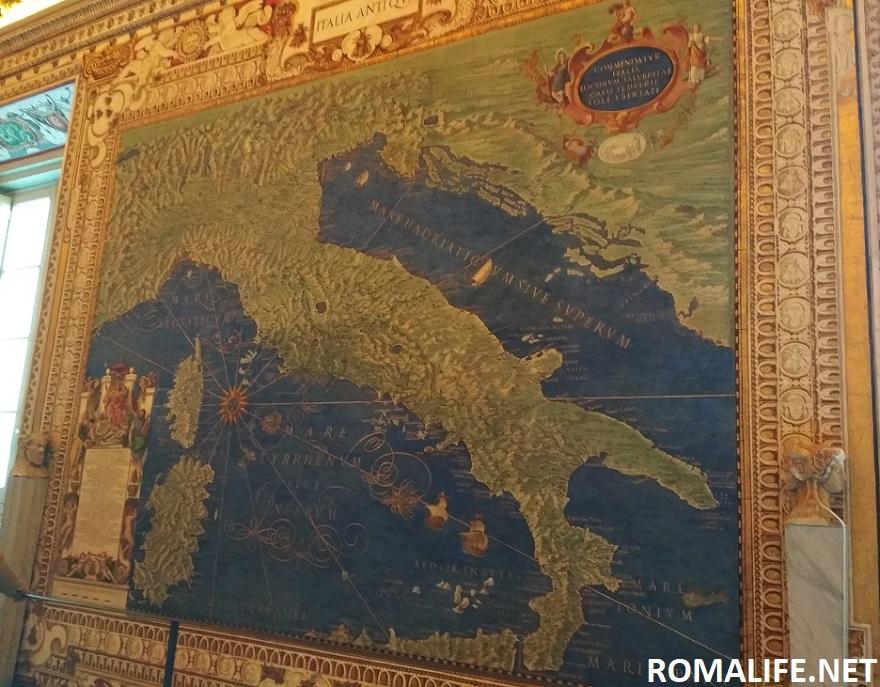 Галерея географических карт в музеях Ватикана