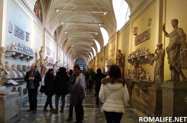 Галерея музея в Ватикане