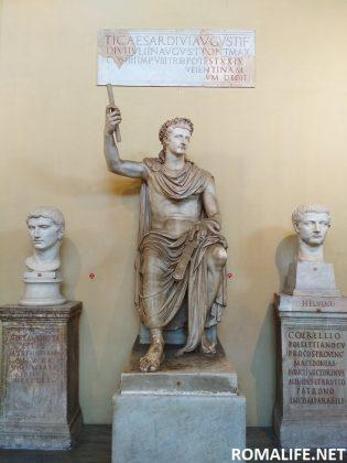 Статуя в музей в Ватикане