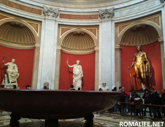Зал Ротонды - Музеи Ватикана
